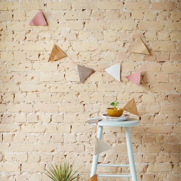 Garland Neutral and Pink, slinger - Jee Bags, unique handmade leather bags, unieke handgemaakte leren tassen, Janneke Peters