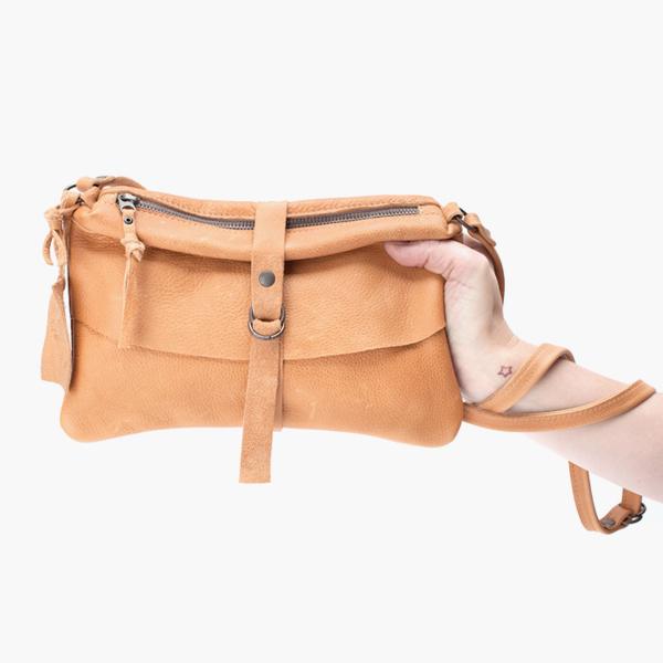 Num Natural - Jee Bags, unique handmade leather bags, unieke handgemaakte leren tassen, Janneke Peters