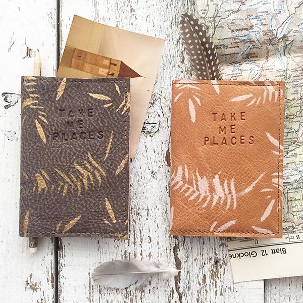 Leren Paspoort Hoesjes - Jee Bags, unique handmade leather bags, unieke handgemaakte leren tassen, Janneke Peters