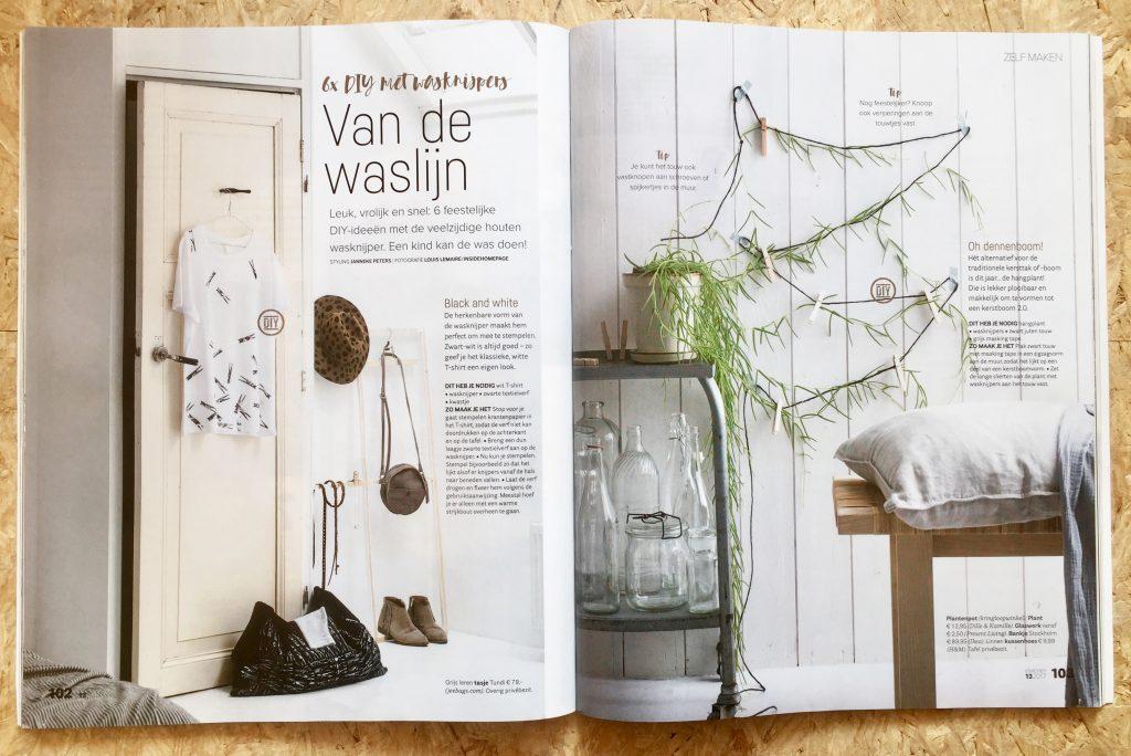 VT Wonen, Janneke Peters Styling, Wasknijper DIY