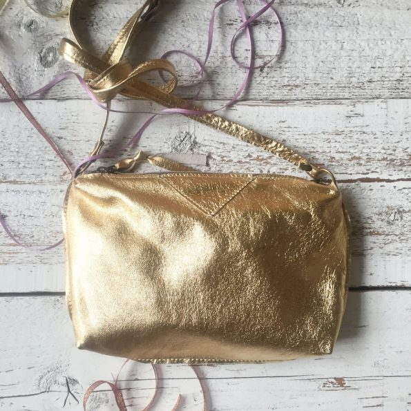 SIMIA, Jee Bags, gold, leather, handmade, one of a kind